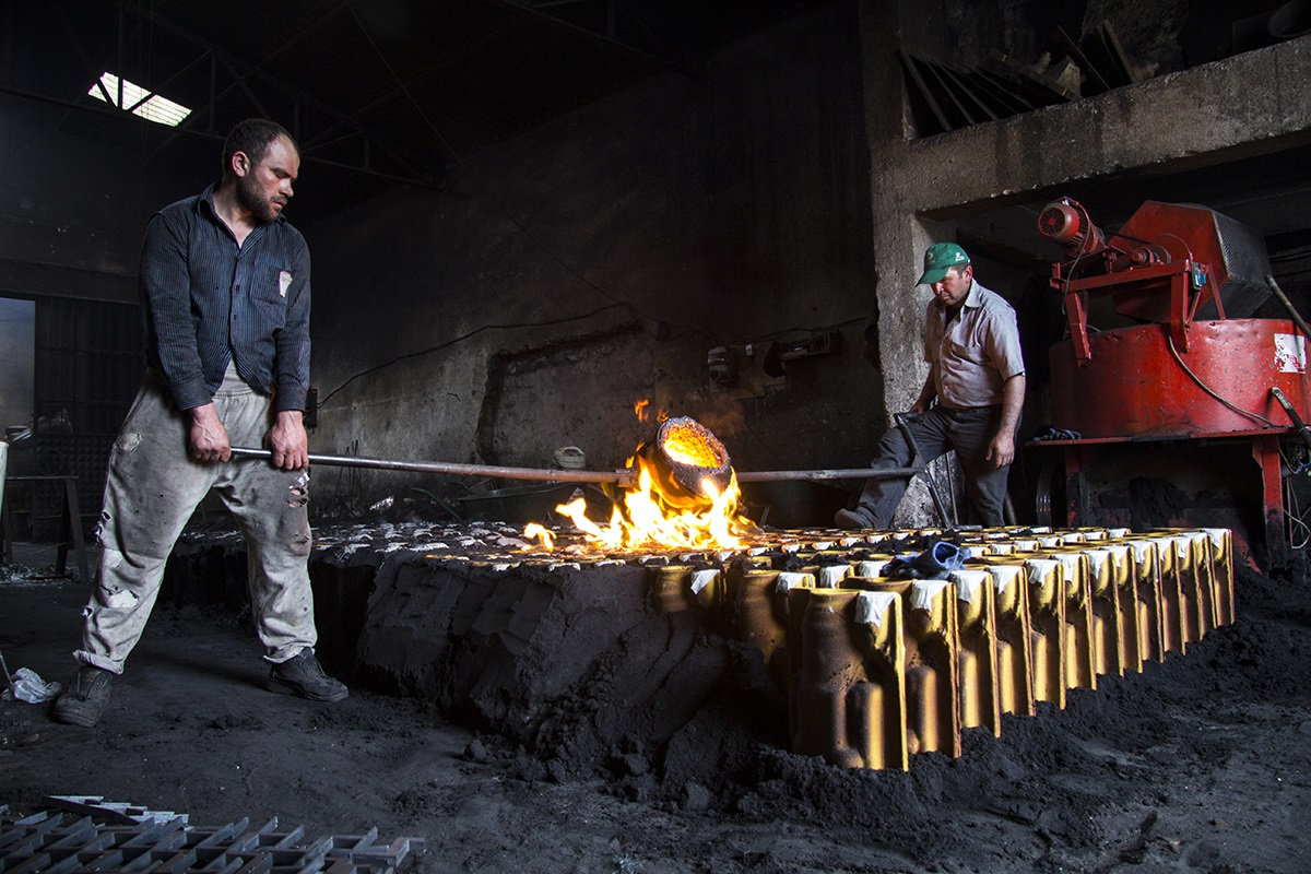 The Masters of Fire: Smelters